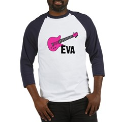 Guitar - Eva Baseball Jersey