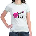 Guitar - Eva Jr. Ringer T-Shirt