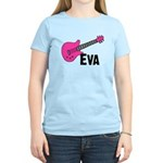 Guitar - Eva Women's Light T-Shirt