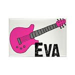 Guitar - Eva Rectangle Magnet