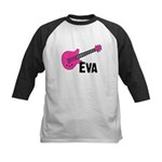 Guitar - Eva Kids Baseball Jersey