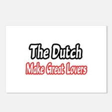"""""""Dutch...Great Lovers"""" Postcards (Package of 8)"""