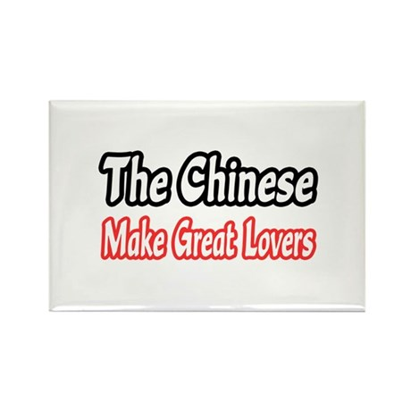 """Chinese...Great Lovers"" Rectangle Magnet (100 pac"