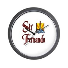 Sir Fernando Wall Clock