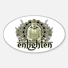 "Buddha ""Enlighten"" Decal"