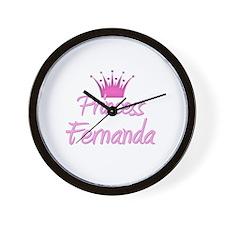 Princess Fernanda Wall Clock