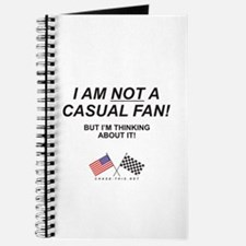 NOT Casual Fan Journal