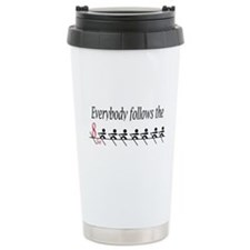 """Everbody follows the 8 Seat"" Travel Mug"