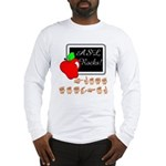 Great Teacher Male (Front) Long Sleeve T-Shirt