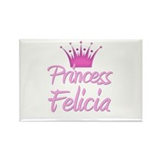 Princess Felicia Rectangle Magnet