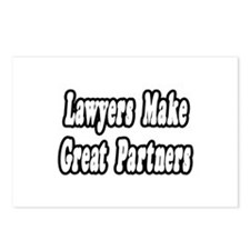 """Lawyers...Great Partners"" Postcards (Package of 8"