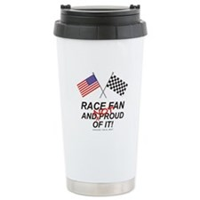 NOT Proud Race Fan Travel Mug