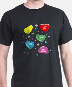 Valentine's Candy Hearts T-Shirt
