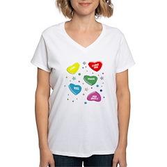 Valentine's Candy Hearts Shirt