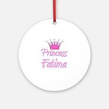 Princess Fatima Ornament (Round)
