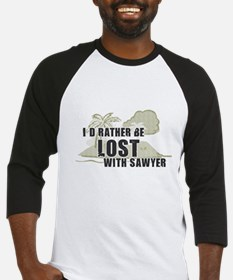 I'd Rather be Lost... Sawyer Baseball Jersey