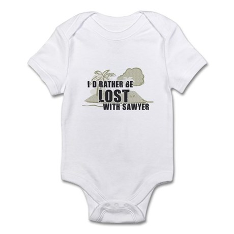 I'd Rather be Lost... Sawyer Infant Creeper
