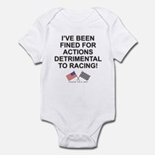 Detrimental Actions Infant Bodysuit