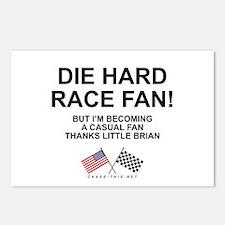 Die Hard-Casual Fan Postcards (Package of 8)