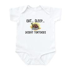 Eat ... Sleep ... DESERT TORTOISES Infant Bodysuit