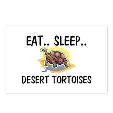 Eat ... Sleep ... DESERT TORTOISES Postcards (Pack
