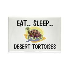 Eat ... Sleep ... DESERT TORTOISES Rectangle Magne