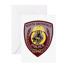 N Smithfield PD K9 Greeting Card