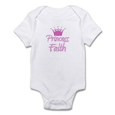 Princess Faith Infant Bodysuit