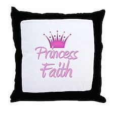 Princess Faith Throw Pillow