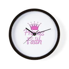 Princess Faith Wall Clock