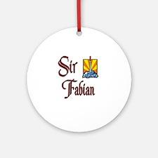 Sir Fabian Ornament (Round)
