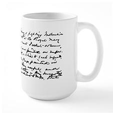 Mug with Writing