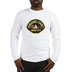 Riverside Sheriff K9 Long Sleeve T-Shirt