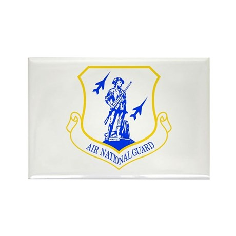 Air National Guard Rectangle Magnet (10 pack)
