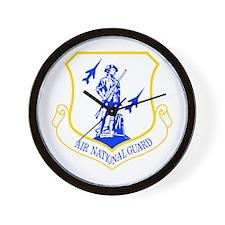 Air National Guard Wall Clock