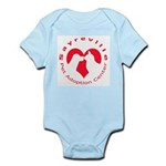 Sayreville Pet Adoption Center Infant Bodysuit