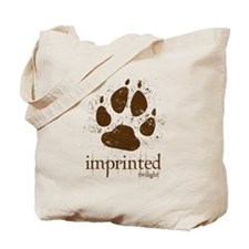 Werewolf Imprinted Twilight Tote Bag