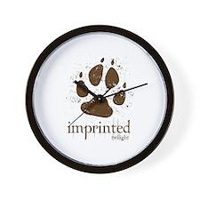 Werewolf Imprinted Twilight Wall Clock