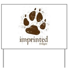 Werewolf Imprinted Twilight Yard Sign