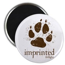 Werewolf Imprinted Twilight Magnet