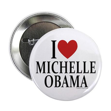 """I Love Michelle 2.25"""" Button"""