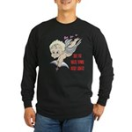 Valentine's Cupid Long Sleeve Dark T-Shirt