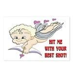Valentine's Cupid Postcards (Package of 8)