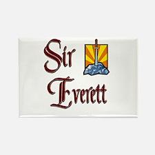 Sir Everett Rectangle Magnet