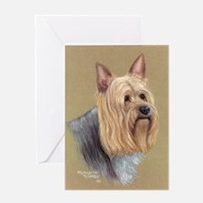 Silky Terrier Greeting Card