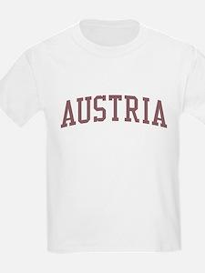 Austria Red T-Shirt