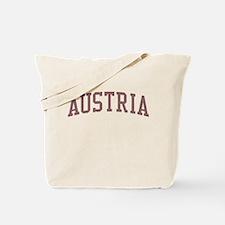 Austria Red Tote Bag