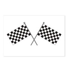 Checkered Flag Postcards (Package of 8)