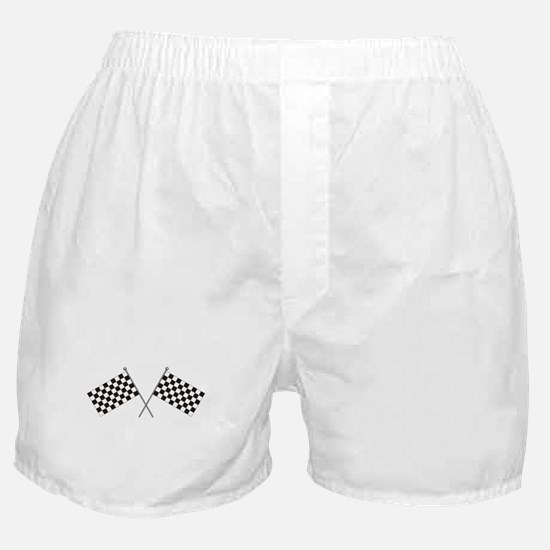 Checkered Flag Boxer Shorts
