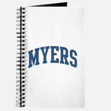 Myers Collegiate Style Name Journal